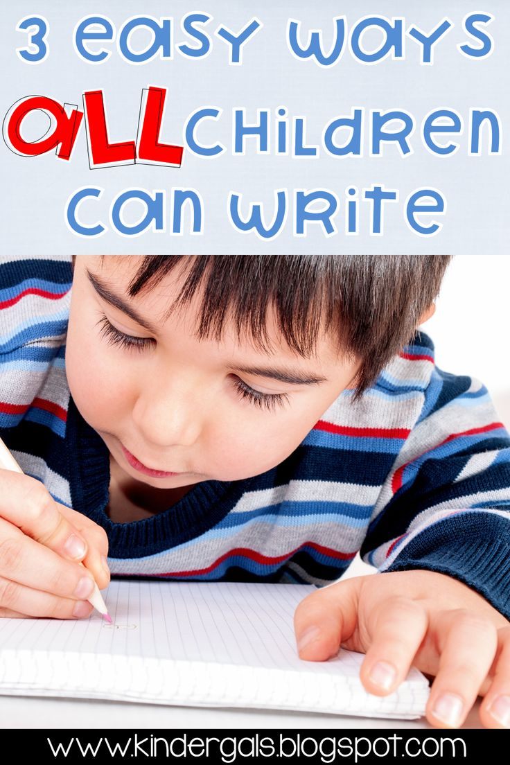 Yes all students can write! Writing is the way we convey meaning on a piece of paper. Read more here!