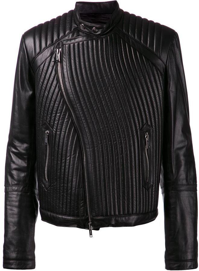 Les Hommes ribbed jacket on shopstyle.co.uk