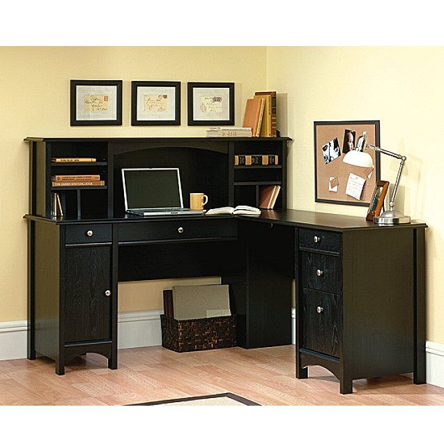 corner computer desk with hutch   shaker_ebony_corner_computer_desk_with_hutch_1-11.JPG