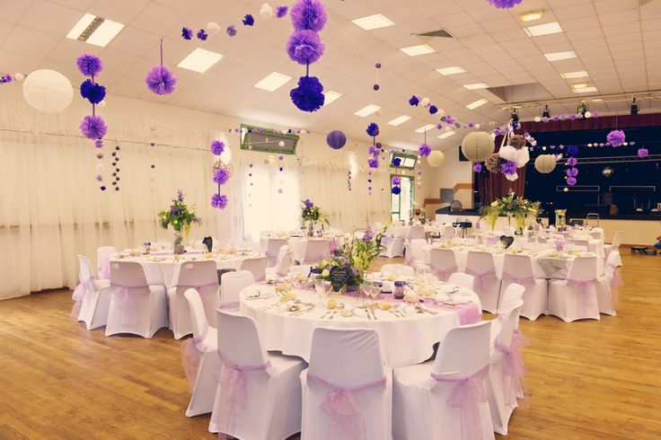 decorations for weddings mauve wedding venues ideas para deco table ...