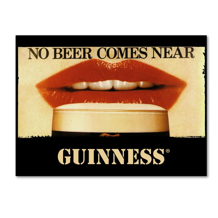 Guinness Brewery 'No Beer Comes Near' Art
