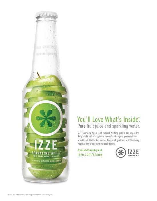 This is what effective advertising looks like: Vermilion Design, for Izze. ~ Nov 16, 2009