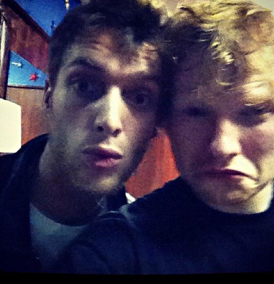 Paolo Nutini and Ed Sheeran