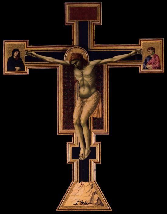 GIOTTO, Crocifisso di Santa Maria Novella, 1295-1300, Firenze
