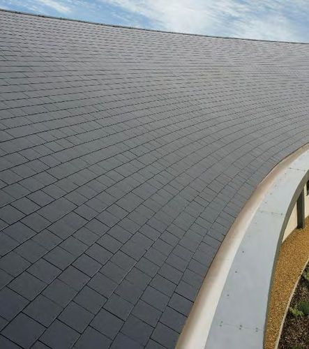 10 best synthetic slate roofing faux slate roof images for Fiber cement composite roofing slate style