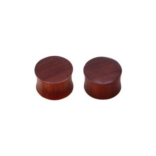 NOVICA Smooth Brown Wood Handcrafted Earplug Body Jewelry (£14) ❤ liked on Polyvore featuring jewelry, body jewelry, clothing & accessories, wood, handcrafted jewelry, wooden jewelry, wooden body jewelry and body jewellery