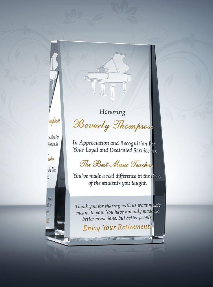 teacher retirement gift plaque amp wording ideas teacher