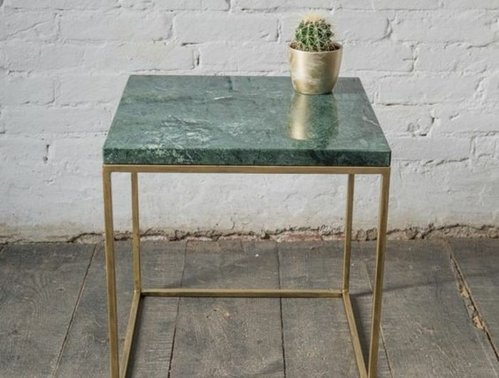 Table Basse En Marbre 58 Idees Pour Donner Du Style Au Salon Archzine Fr Table Basse Marbre Table Basse Table Basse D Appoint
