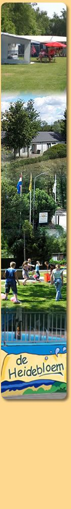 De Heidebloem - Algemeen - Recreatiepark de Heidebloem is een echte familiecamping met ruime vaste- en toeristische plaatsen in een mooie gr...