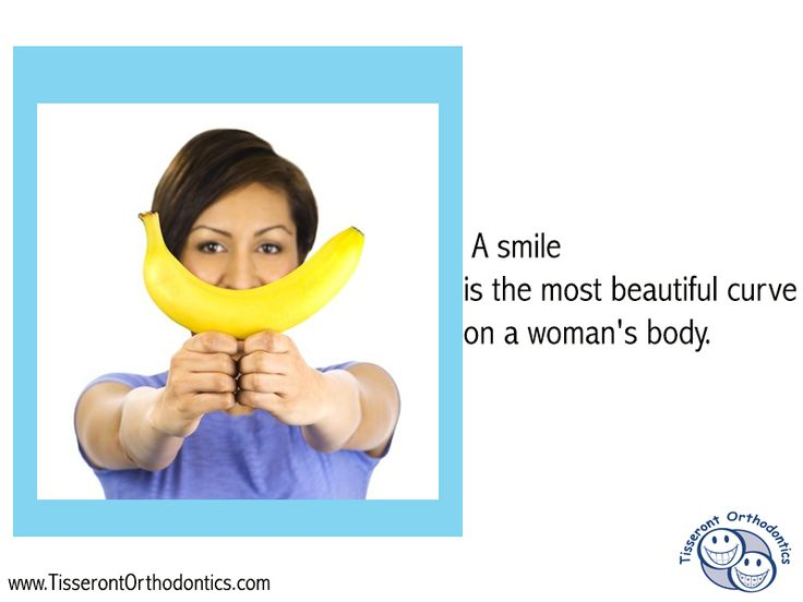 A smile is the most beautiful curve on a woman's body