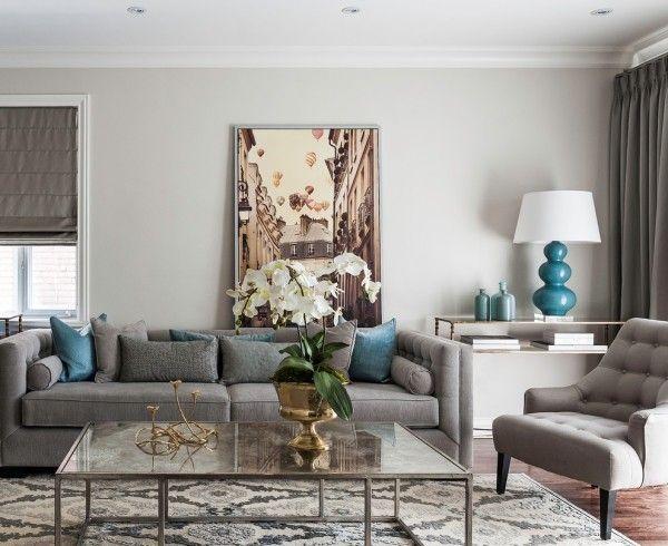 Die besten 25+ Gardinen grau Ideen auf Pinterest Gardinen, Weiße - landhausstil wohnzimmer grau