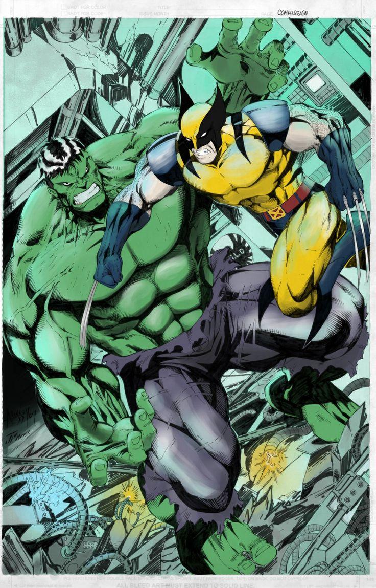 83 best images about hulk vs wolverine on pinterest