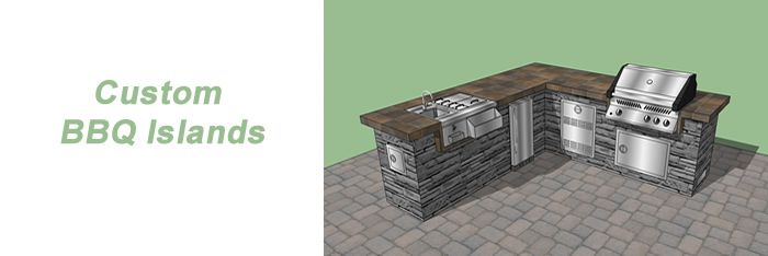 diy built in grill island | BUILT-IN OUTDOOR KITCHENS