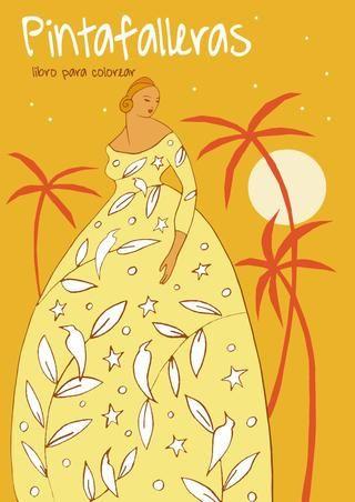 Pintafalleras,fallas ,falleras, coloring book valencia
