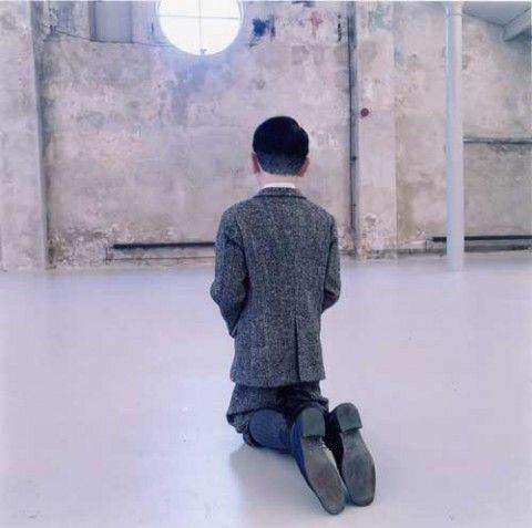 Maurizio Cattelan – Him (2001)