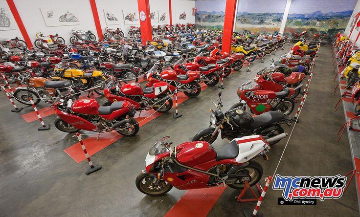 The Saltarelli Ducati Collection