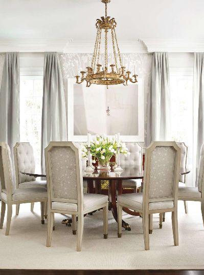 Traditional Home Dining Rooms. Splendid Sass  TRADITIONAL HOME OCTOBER ISSUE FAVORITES Elegant Dining RoomFormal 166 best room inspiration images on Pinterest