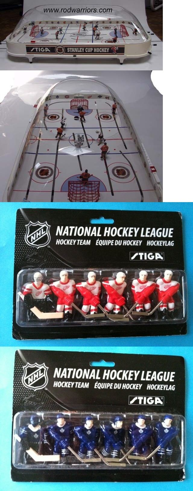 Other Ice and Roller Hockey 2911: 2017 Stiga Bubble Dome Stanley Cup Table Hockey Game 2 Hand-Painted Nhl Teams -> BUY IT NOW ONLY: $189.99 on eBay!