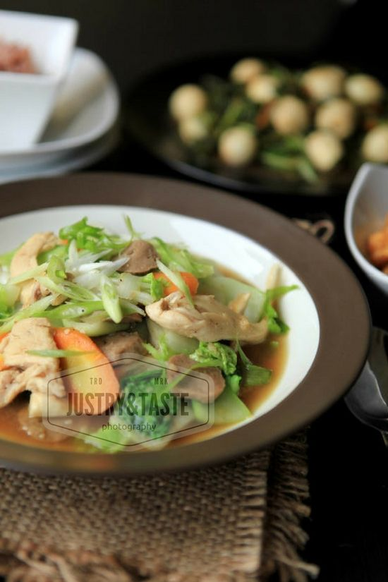Capcay Sayur & Ayam