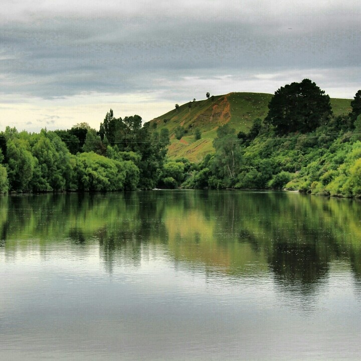"""Whanganui River, NZ. """"the river flows from the mountain to the sea, I am the river - and the river is me""""."""