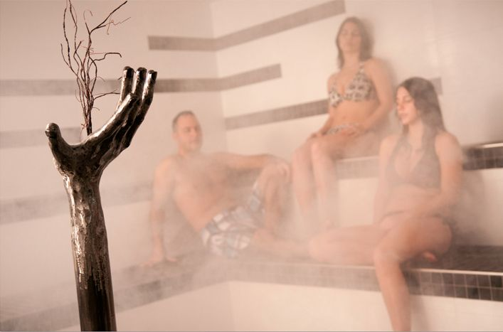 KiNipi spa & bains nordiques http://www.kinipi.ca/  Photo : Étienne Boisvert #spa #sculpture