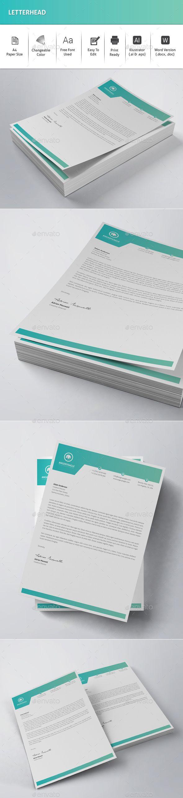 letter format on letterhead%0A Letterhead
