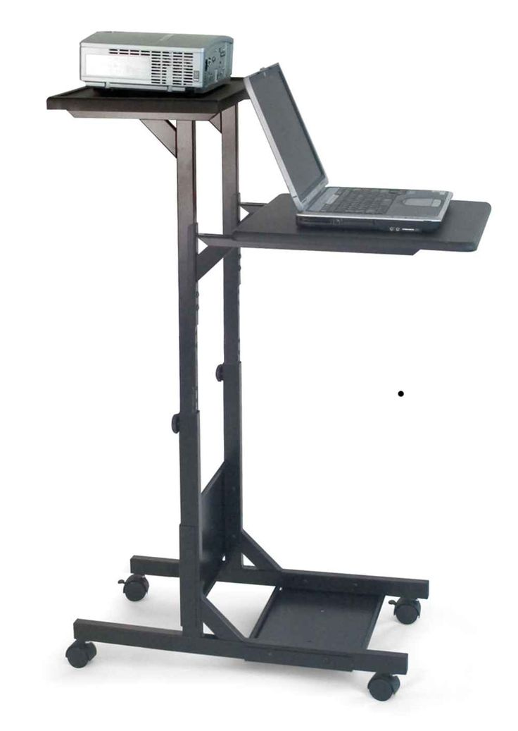 H Wilson Mobile Laptop Stands for Presentation  Laptop