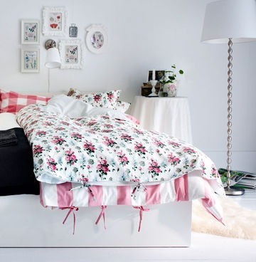 couleurs fraiches: Quilt Cover, Country Roses, Idea, Inspiration, Queen, Cover Emmie, Ikea Duvet, Bedroom