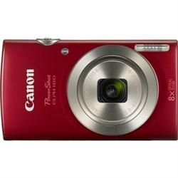 #Canon PowerShot ELPH 180 20MP 8x Optical Zoom HD Video Red Digital Camera $109.00