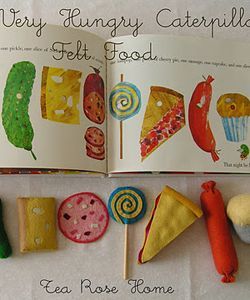 felt food tutorial for Very Hungry Caterpillar