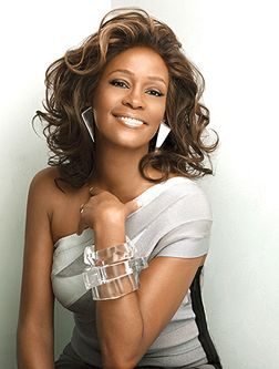 Whitney Houston- a beautiful voice and a beautiful woman. So sad what