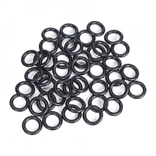 Rubber O-Rings 25 Pack for Tattoo Machine. Give your machine springs a little extra punch. Made of black rubber. Comes in a pack of 25.