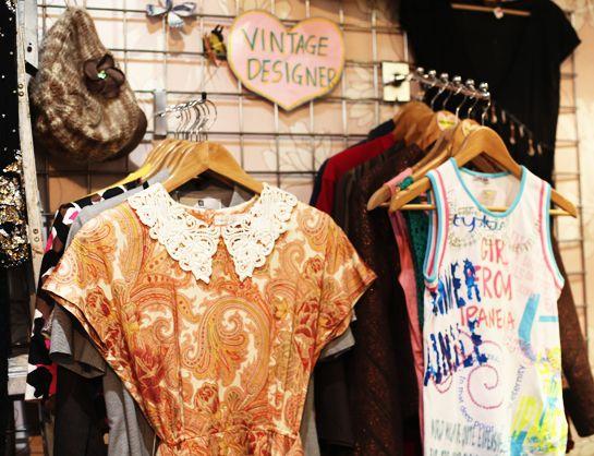 Vintage shopping in Camden