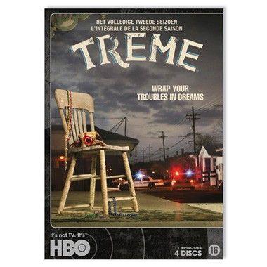 DVD Treme seizoen 2  Treme is een productie van HBO en speelt zich af in Tremé een buurt in New Orleans enkele maanden nadat de stad het slachtoffer is geworden van de verwoestende orkaan Katrina. (DVD)  EUR 24.99  Meer informatie