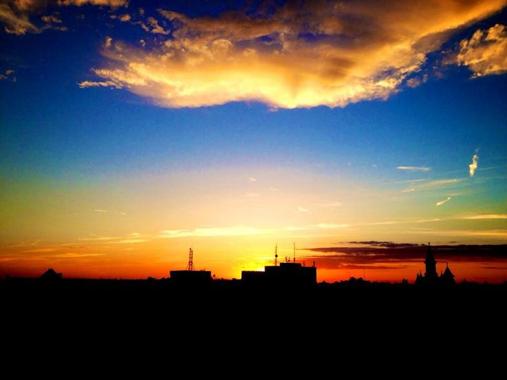 Orange sunset | Timisoara | Romania
