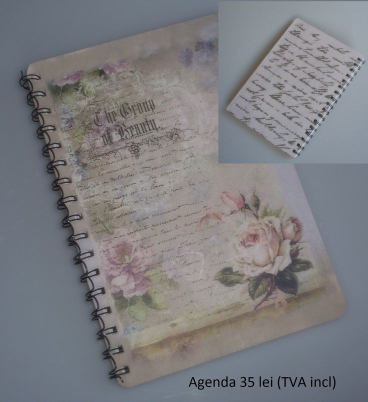 Handmade notebook.