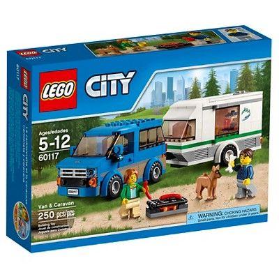 LEGO® City Van & Caravan 60117 : Target