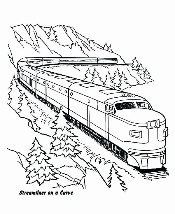 Coloring Pictures Of Trains Elegant Train Tracks Coloring Pages Number38fo Train Coloring Pages Coloring Pages Valentines Day Coloring Page