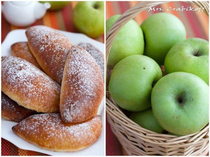 Фото к рецепту: Яблочные пирожки.