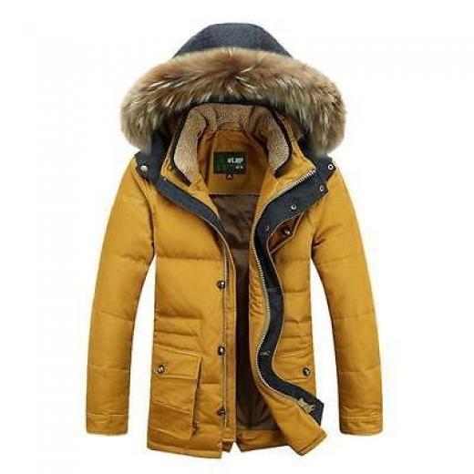New Outwear Fashion Men Winter Parka Jacket Warm Hooded Coat Duck Down Coats Regular M,l,xl,xxl China