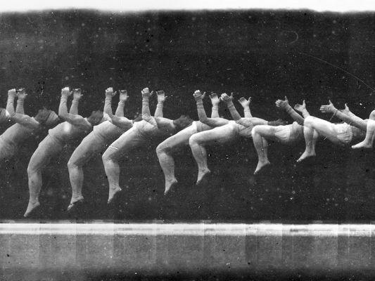 bandes chronophotographiques - Etienne-Jules Marey et Georges Demenÿ - 1890 -