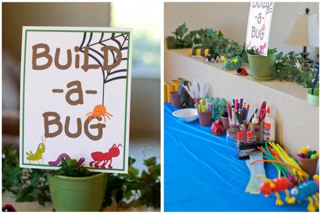 Provocation: build a bug craft