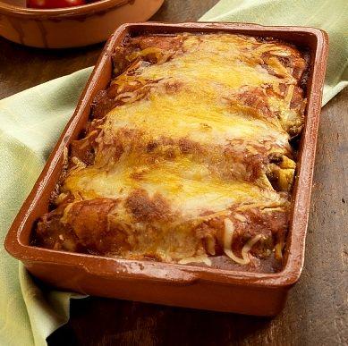 My Slimming World Chicken Enchilada Recipe