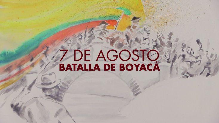 Así fue la batalla de Boyacá