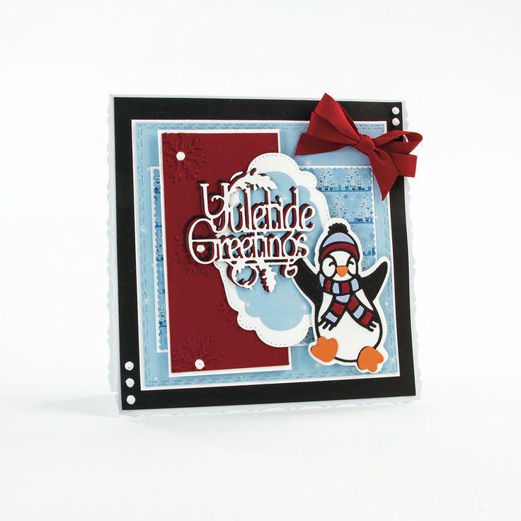 Rococo Petite Christmas - Happy Penguin - 1380E