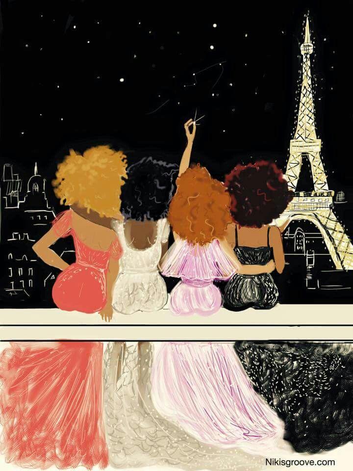 Night time in Paris