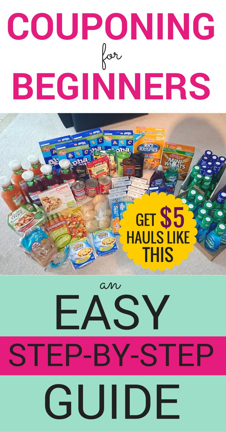 Couponing for beginners: a SIMPLE, practical step-by-step guide. Really straightforward for anyone wanting to learn couponing!