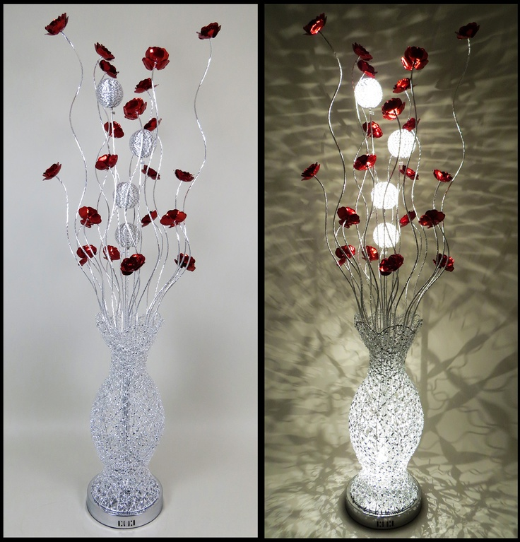 28 best silver wire lamps images on pinterest wire table bulb httpwirelampswlf3069 6red greentooth Images