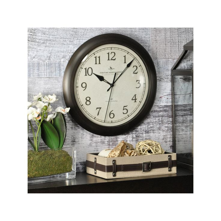 FirsTime Whisper Classic Wall Clock, Multicolor