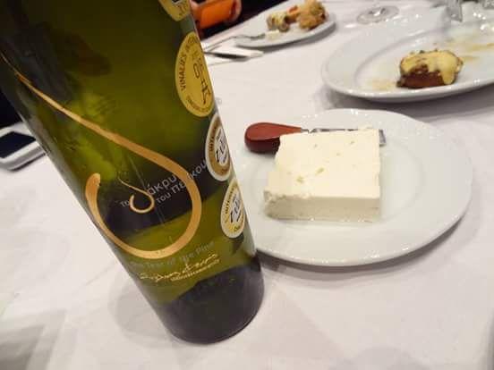 #TheTearOfThePine, the best feta cheese and #Retsina wine pairing! #SteliosKechrisDomaine